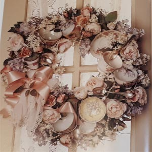 Nostalgia wreath
