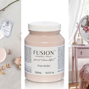 Fusion Mineral Paint Rose Water
