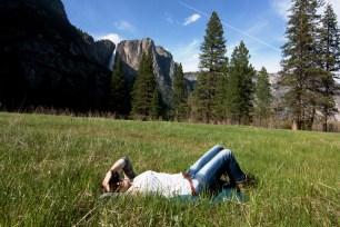 Ambiente primaveral en Yosemite Valley en Mayo
