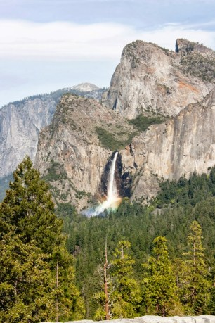 Cascada en Yosemite Valley