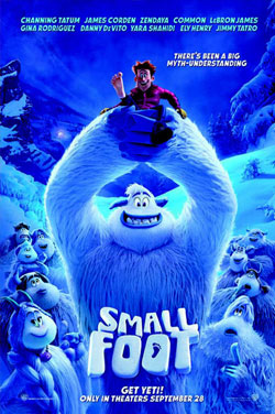 Click here to visit KS19: Smallfoot movie page