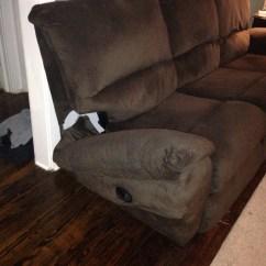 Fixing A Broken Sofa Arm Sectional Sleeper With Storage Regal Furniture Repair  On Site Home And Business In