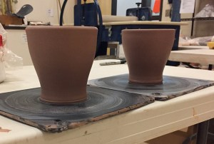 Regal House coffee mugs in production