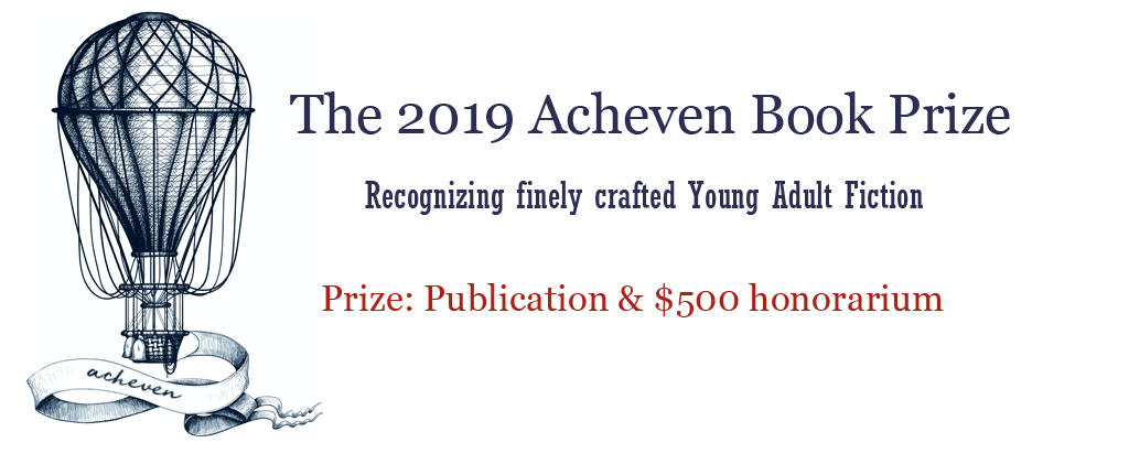 The Kraken Book Award, Recognizing finely crafted Young Adult fiction