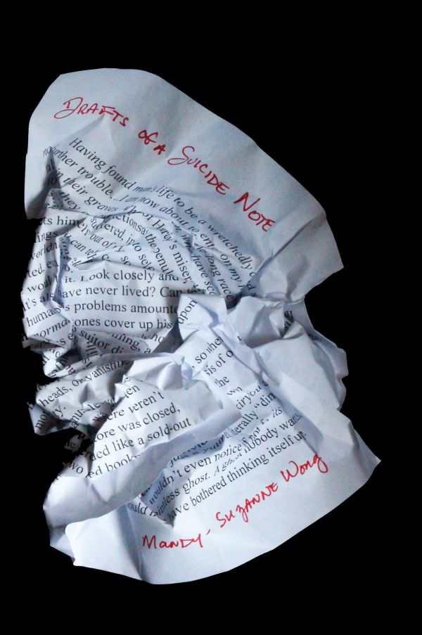 Drafts of a Suicide Note by Mandy-Suzanne Wong, A Regal House Publishing title
