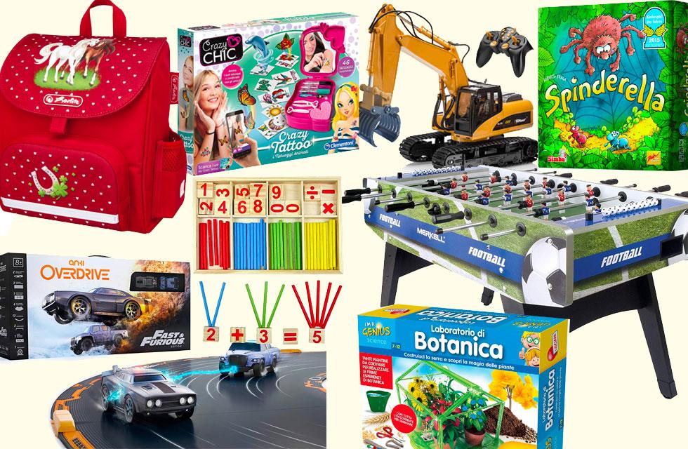 regali per bambini e bambine di 6 anni