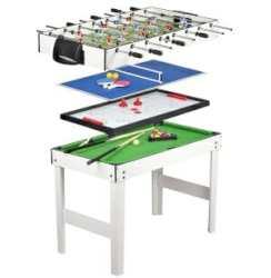 un tavolo multigioco 4 in 1