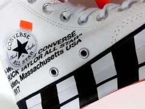 Scarpe Sneaker OFF White x Converse Chuck 70