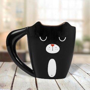 Casa & Ufficio  TazzaBlackCat-Regalo Tazza Black Cat