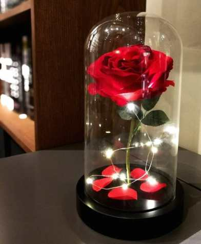 Regali per Donna  homeseason-rosa-rossa Homeseasons rosa rossa - Un romantico regalo per donna