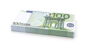 Feste e Anniversari Gadget  100x€100EUROBANCONOTE-Cashbricks75size-Regalo Mazzetta di banconote (finte) 100 x €100