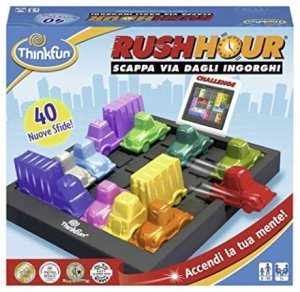 Regali per Ragazzi  ThinkFun-RushHourGiocodiLogicaMulticolore76300-Regalo Think Fun - Rush Hour Gioco di Logica