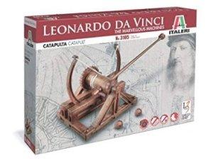 Regali per Ragazzi  Italeri3105-LeonardoDaVinciCatapulta-CatapultMode-Regalo La Catapulta di Leonardo Da Vinci - Italeri 3105