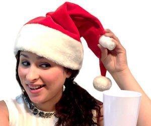Feste e Anniversari Gadget  SantaHatFlask-Regalo Cappello di Natale con fiaschetta incorporata