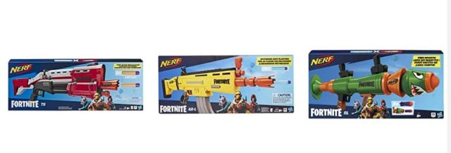 fortnite hasbro nerf