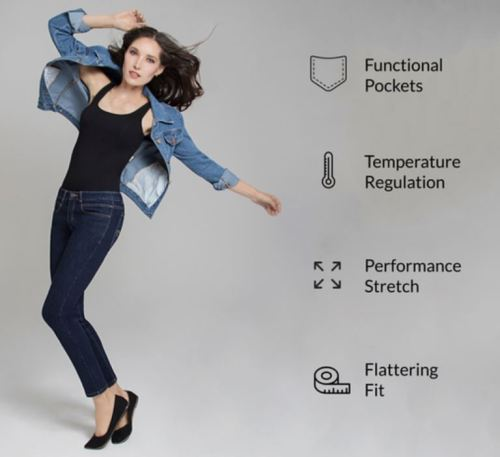 Regali per Donna  jeansperlei Radian Jeans