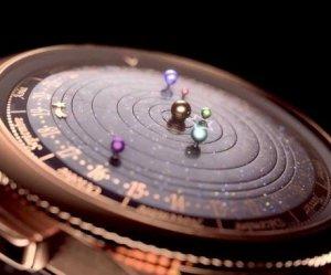 Oggetti Fantastici  MovingPlanetariumWatch-Regalo Orologio Planetario Van Cleef & Arpels