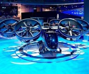 Nexus Flying Air taxi, il taxi volante