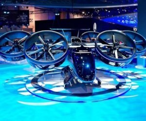 Oggetti Fantastici  NexusFlyingAirTaxi-Regalo Nexus Flying Air Taxi