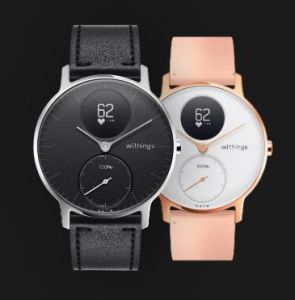 Gadget Regali per Donna Regali per uomo  WithingsSteelHRSmartwatchIbridoMulti-SportUnisex–A-Regalo Withings Steel HR, Smartwatch Ibrido Unisex