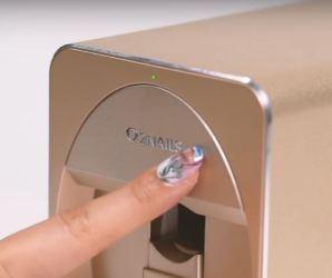 stampante 3d per unghie