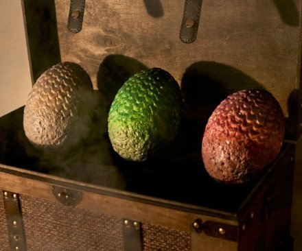 Oggetti Fantastici  GameOfThronesChocolateDragonEggs-Regalo Uova di cioccolato di Game Of Thrones