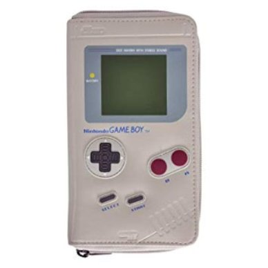 Feste e Anniversari Gadget  NintendoGameBoyportafoglio19x11x23cmgrigio-Regalo Portafoglio Game Boy