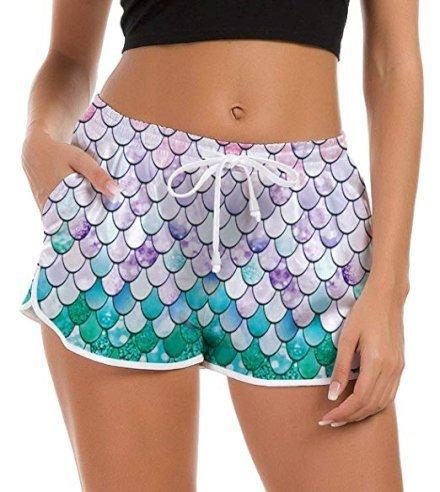 Regali per Donna  FanientPantaloncinidaBagnoDonna3DGraphicPantaloncini-Regalo Fanient Pantaloncini da Bagno Donna