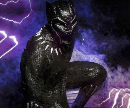 Feste e Anniversari  BlackPantherCostume-Regalo Costume da Avenger Black Panter