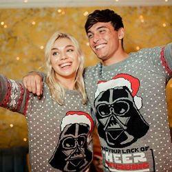 Maglione di Natale con Darth Vader