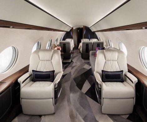 Oggetti Fantastici  gulfstream-g700-private-jet-cabin-640x533 Gulfstream G700 Jet Privato