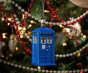 Addobbo dell'albero di Natale del Doctor Who