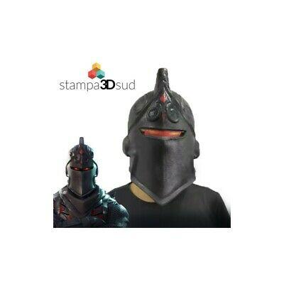 Fortnite / Black Knight mask Cosplay maschera cavaliere nero CARNEVALE