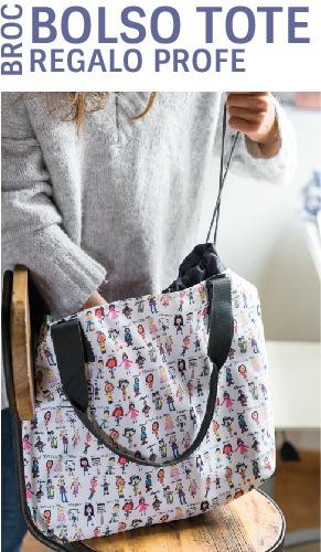 bolsos personalizados regalos para profesores dibujos mr broc