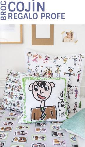 cojines personalizados regalos para profesores dibujos mr broc