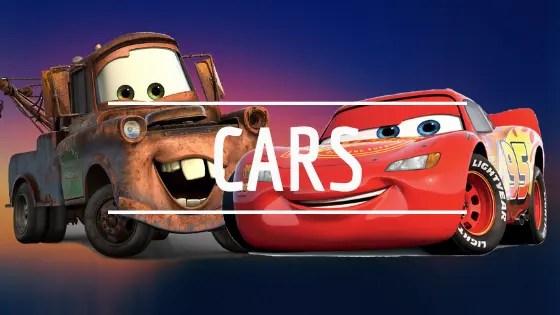 Cars la vuelta al cole regalomolon.es