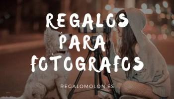 Regalos para fotografos y amantes de la fotografía. Regalomolon.es