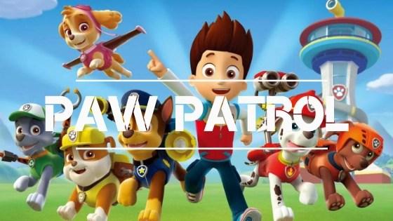 tienda de paw patrol. mochilas de la patrulla canina, estuches y neceser de paw patrol la patrulla de cachorros