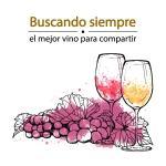Buscando siempre el mejor vino para compartir