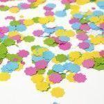 Divertido y colorido papel confeti