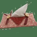 Porta pañuelos patchwork hechos a mano