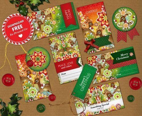 cmo envolver regalos ms bonitos con etiquetas de navidad para imprimir