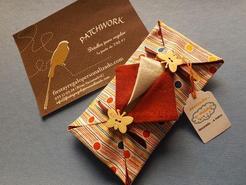 Detalles de patchwork como regalos hechos a mano originales 2