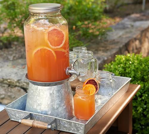 Dispensador de bebidas decorativo para bodas y fiestas 8