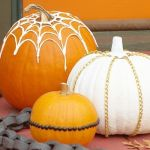 Manualidades Halloween: decorar calabazas sin vaciar