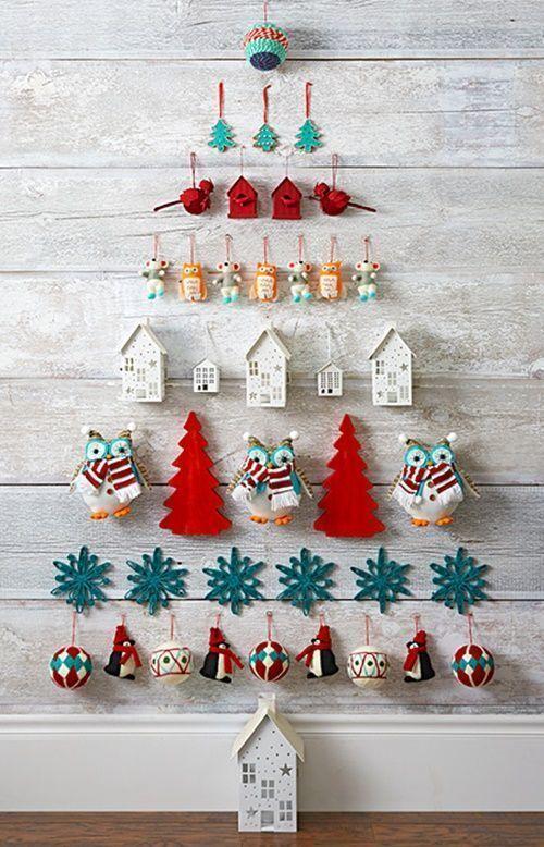 3 ideas de árboles de Navidad originales y que no ocupan atrévete con ellos 2