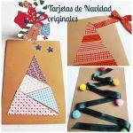 DIY: 3 tarjetas de Navidad originales hechas a mano