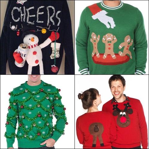Ideas de disfraces de Navidad originales para el Día del Jersey Navideño Feo.