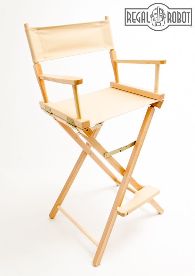 30 Bar Height Directors Chair  Regal Robot