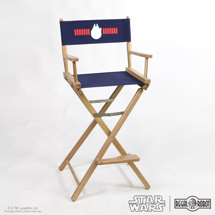 Folding Director Chair Star Wars Han Solo Directors Chairs